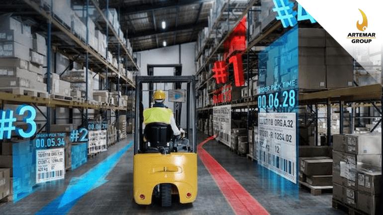 Entrenamiento de Realidad Virtual para Logística