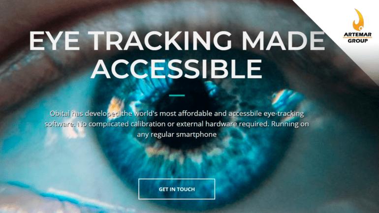 La startup danesa Obital presenta una nueva aplicación de seguimiento ocular que convierte cualquier dispositivo en una herramienta de comunicación de asistencia