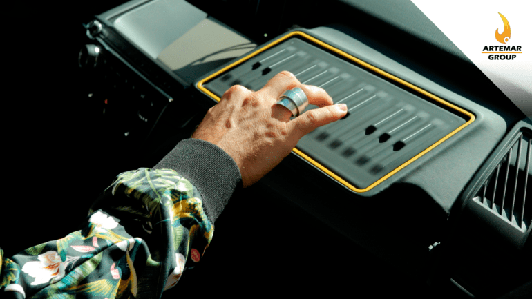 sistema de audio de Harman con Leap Motion