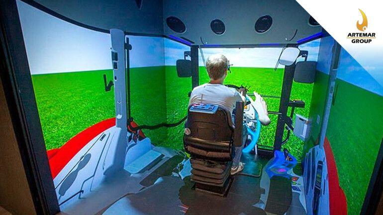 Realidad virtual aumentada para la industria