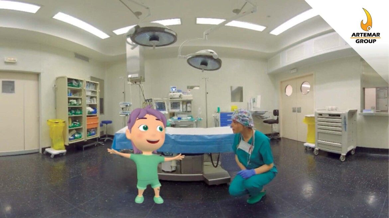 I AM READY: Realidad virtual para niños en tratamiento de radioterapia