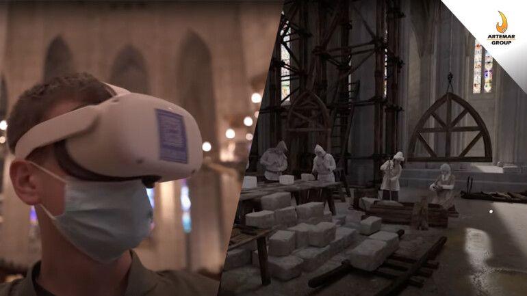Visita la Catedral de Santa María con Realidad Virtual